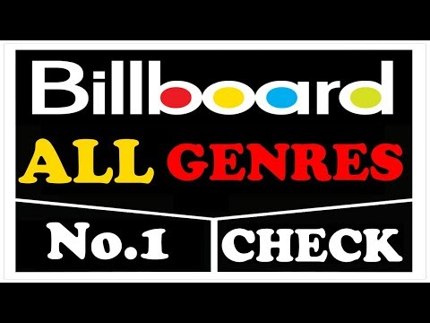 Billboard No. 1 Check (All Genres) | June 17, 2017 | ChartExpress