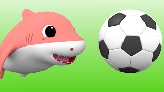 Baby Shark Yes Yes Playing Outside Song +More Baby Shark Songs and Nursery Rhymes for Children