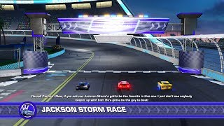 Cars 3: Driven to Win (PS4) - Lightning McQueen vs. Cruz Ramirez vs. Jackson Storm Showdown!