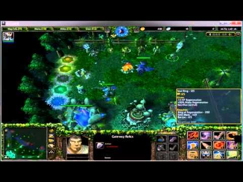 วิธีออกของ ซื้อของ dota / Warcraft III Part.1