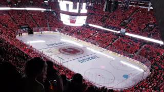 Calgary Flames 2017 Stanley Cup Playoffs intro.  Game 3