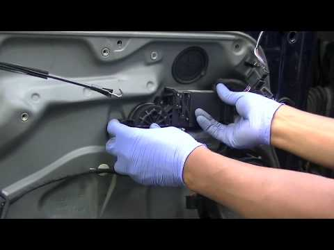 VW Golf Jetta Mk4 Door Lock Module Removal