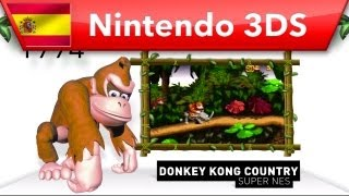 Donkey Kong Country Returns 3D - (Nintendo 3DS) - Tráiler historia