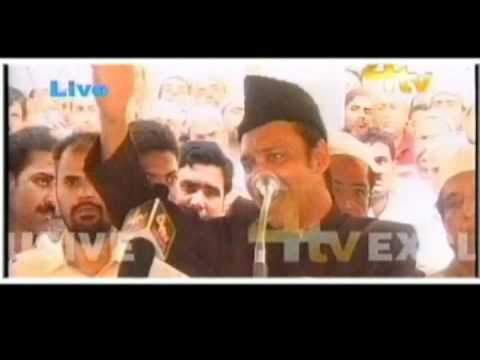 Akbar Owaisi Speech at Makkah Masjid...