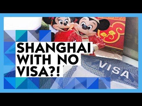 How to Visit Shanghai Disneyland without a Visa!   Disney Travel Tips