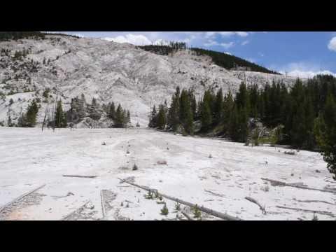 Volcanic Activity Lava Flow Yellowstone