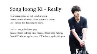 Song Joong Ki - Really (The Innocent Man OST)  (english sub and hangul romanized)