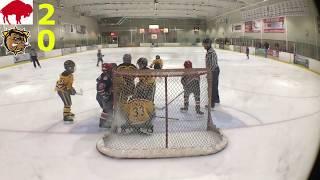 Kids Hockey - Amazing Comeback Buffalo Regals v Hamilton Bulldogs Triple A SCTA NOVICE