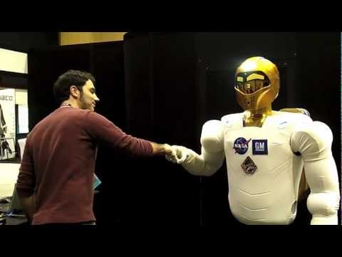 How NASA Robonaut's Arms Work