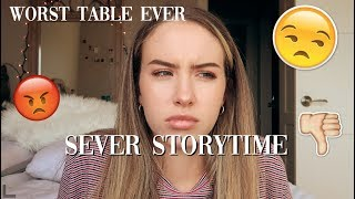SERVER STORYTIME || WORST SHIFT EVER
