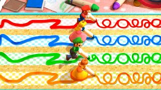 Mario Party The Top 100 MiniGames - Mario Vs Luigi Vs Peach Vs Daisy (Master Difficulty)