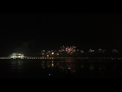 Second Penang Bridge Opening Ceremony Firework