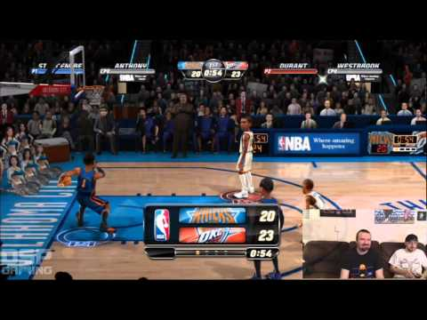 SGC Iron Man of Gaming 2013 Training - NBA Jam (2011) pt2