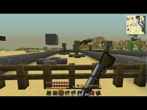 Minecraft: Tekkit with Lewis - Musket. Knife and Crossbow #50
