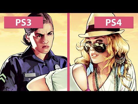 Grand Theft Auto 5 / GTA 5 – PS3 vs. PS4 Graphics Comparison [FullHD]