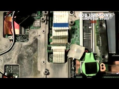 How to Replace the CMOS Battery in a Panasonic Toughbook CF-30