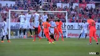 Gol De Neymar de Tiro Libre vs Sevilla 2015