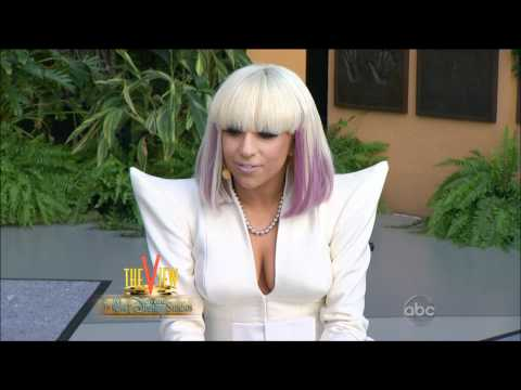 Lady Gaga Just Dance Live On The View Music Videos