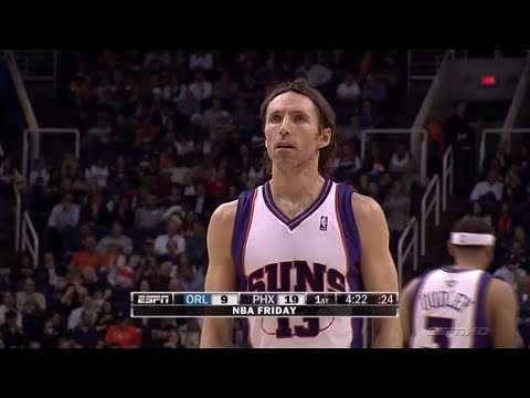 Steve Nash Full Highlights 2009.12.11 vs Magic - 20 Pts, 18 Dimes, NASTY Passing!!