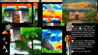 Amiga Deluxe Paint - Zork