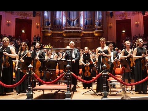 Dvořák Symphony 9 Gustav Mahler Jugendorchester 27 Aug. 2015 Amsterdam