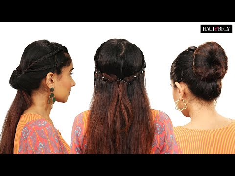 3 Easy Hairstyles For The Wedding Season | Hauterfly
