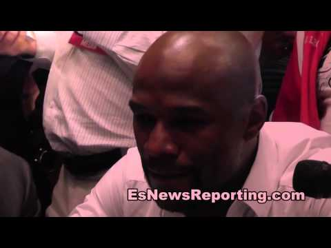floyd mayweather and manny pacquiao had an hour long meeting here's what they spoke about - esnews