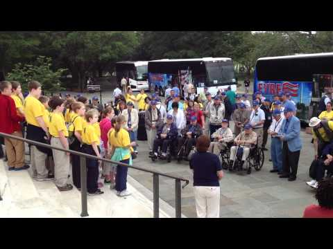 Bethany Christian School Students Sing to WW-II Veterans, Part 2 of 3