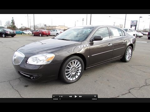 2008 Buick Lucerne Super (4.6L NHP V8) Start Up. Exhaust. and In Depth Review