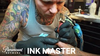 Flash Challenge Preview: Knuckle Sandwich - Ink Master, Season 7