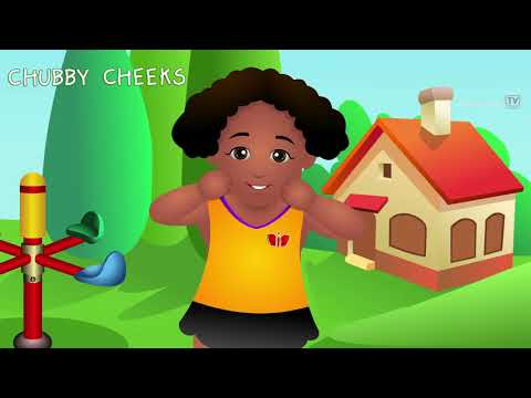 Chubby Cheeks Rhyme - Love All & Help All - NEW VERSION - Popular Nursery Rhymes for Children