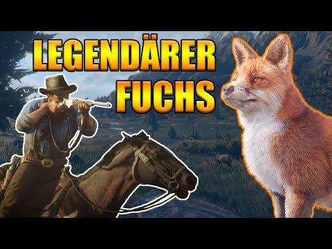 Legendärer Fuchs Red Dead Redemption 2 - Legendäre Tiere jagen