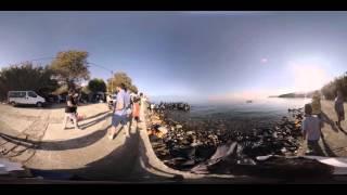 Lesbos Refugees - 360 documentary by Scopic