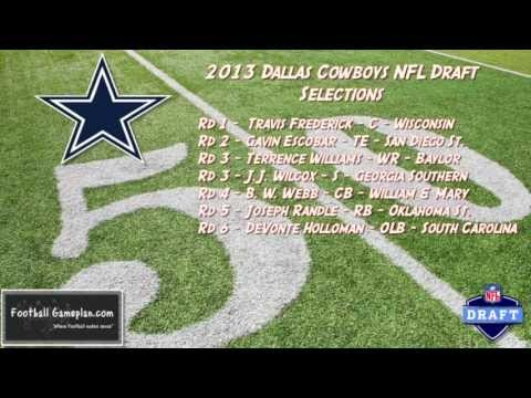 Football Gameplan's 2013 NFL Draft Grades - Dallas Cowboys
