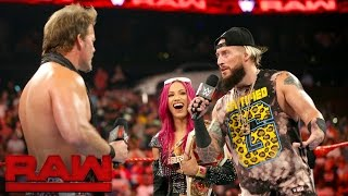"Sasha Banks and Enzo Amore are confronted by a couple of ""haters"": Raw, Aug. 1, 2016"