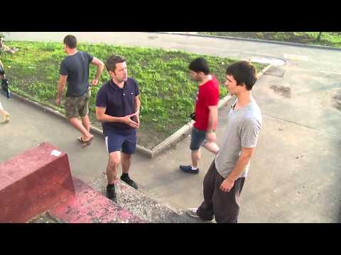 Видео как научиться делать паркур
