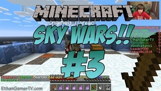 EthanGamerTV Plays Minecraft: Sky Wars (#3) (KID GAMING)