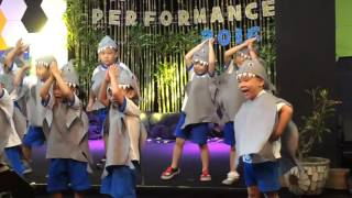 Baby shark dance (kevin performance)
