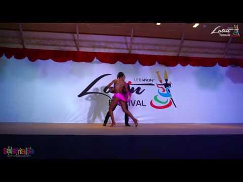 Isabelle & Felicien Kizomba Show | Lebanon Latin Festival 2016