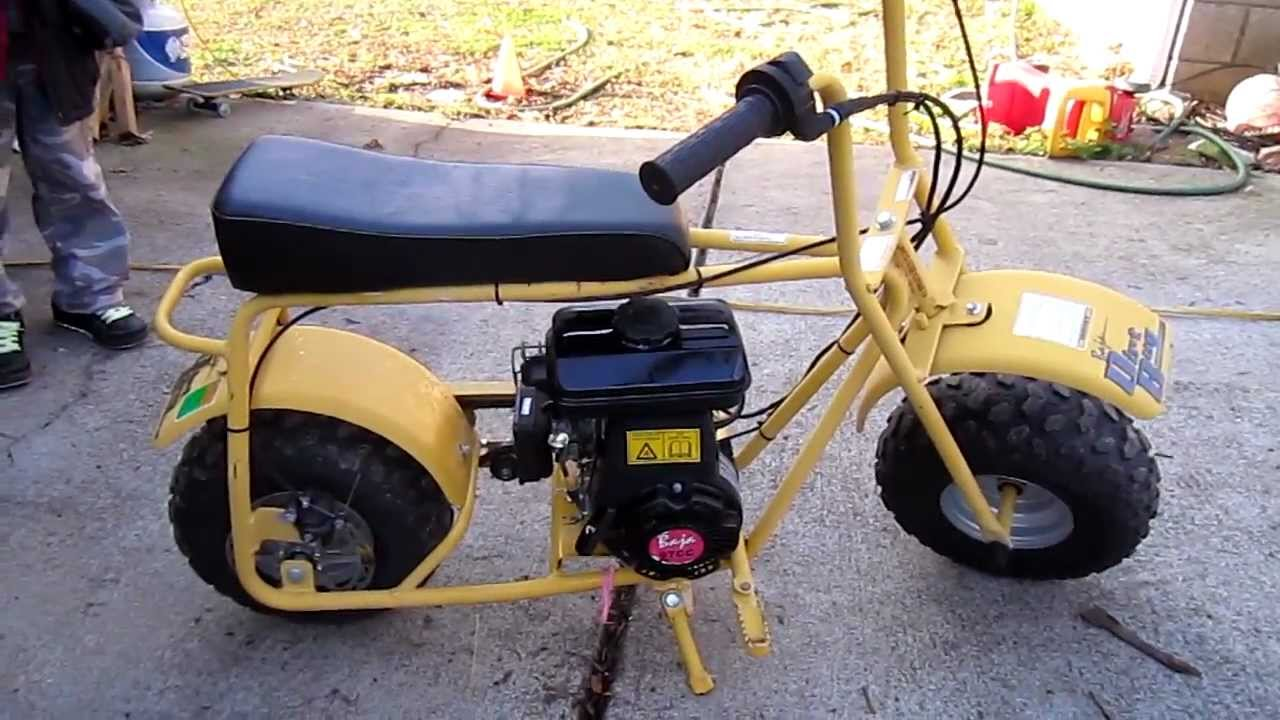 Baja Doodle Bug Mini Bike 97cc Youtube