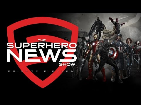 Superhero News: Ep. 15 - CAPTAIN AMERICA: CIVIL WAR Details, Diego Luna in STAR WARS and more!