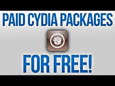 How To Get Paid Cydia Packages For Free