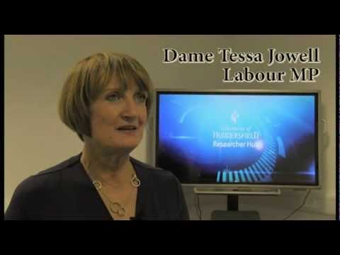 Dame Tessa Jowell and the 2012 Olympics legacy - University of Huddersfield