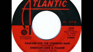 Emerson Lake Palmer Fanfare For The Common Man