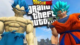 DRAGON BALL SUPER: BROLY MOD w/ SUPER POWERS (GTA 5 PC Mods Gameplay)