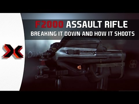 BF4 F2000 Assault Rifle - Breaking it down!