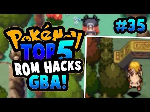 TOP 5 POKEMON GBA ROM HACKS 2017 - MUST PLAY GBA ROMS!!