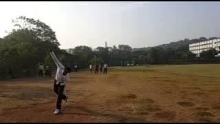 Cricket Bowling, high jump action