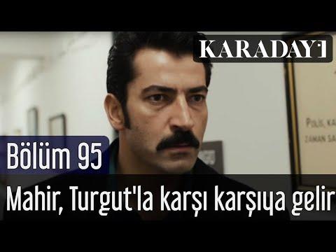 Son Sahne - Mahir, Turgut'la karşı karşıya gelir - Karadayı 95.Bölüm