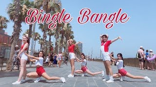 [KPOP IN PUBLIC] AOA(에이오에이) - Bingle Bangle(빙글뱅글) 댄스 커버 배스티니  Dance cover by Bestiny ft. G.Na
